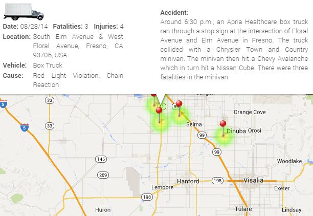 Fresno County Box Truck Crash Kills Three | Truck Accident